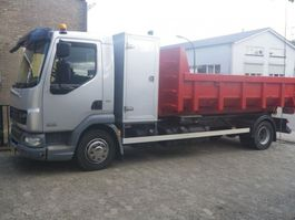 container truck DAF 45 LF 12.220 L 4X2  26.083 KM ORGINAL-EURO 5EEV 2011