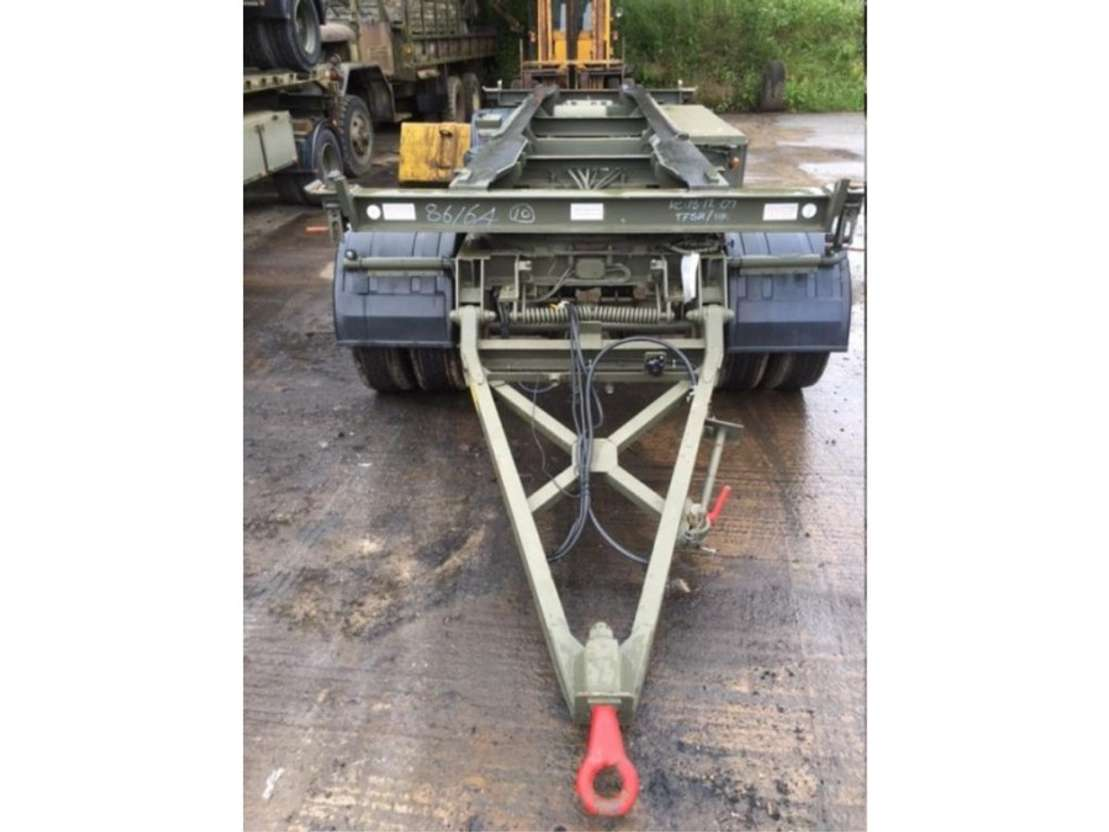 King King 16 5 ton container transport trailer   Container