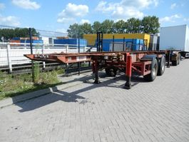 Container-Fahrgestell Auflieger Craven tasker 20 FT chassis / steel suspension / ROR 1992