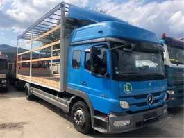 sliding curtain truck Mercedes Benz mercedes atego 1224 rv 2012 223000km euro5 top 7,1 2012