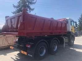 camión de volquete MAN TGS 26.440 6x6 top 2009