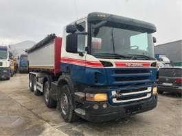 tipper truck Scania P380 8x4 bordmatic bj2007 automat 2007