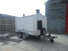 closed box car trailer Anssems TYPE 170 1997