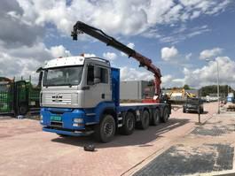 crane truck MAN T.G.A 37.400 10 X 4 2008