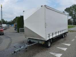 closed box trailer Van Weel schamelwagen 2001