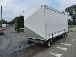 closed box car trailer Van Weel schamelwagen 2001