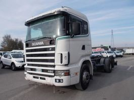 camion con telaio cabinato Scania R 124 LB6X2*4 NA 420 2020