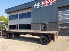 flatbed full trailer Jumbo 2 as bladgeveerd