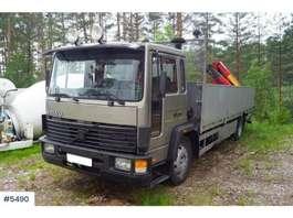 crane truck Volvo FL614 m/bakmontert Palfinger PK5200 1992