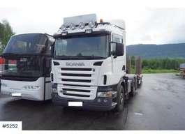 camion grue Scania R470 6X2 med HMF 18 tonnmeter 2005