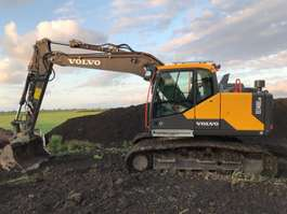 escavadora de rastos Volvo EC140ELM 2019