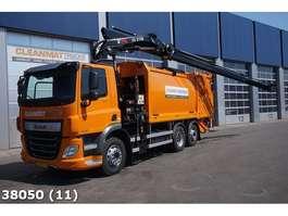 garbage truck DAF FAN CF 340 Euro 6 Hiab 21 ton/meter laadkraan 2018