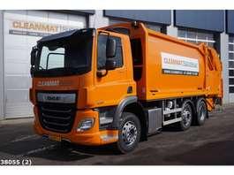 garbage truck DAF FAG CF 300 Euro 6 2018