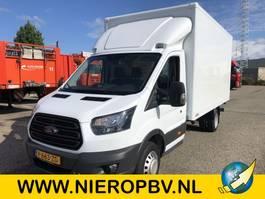 closed box truck Ford transit bakwagen laadklep airco 91000km 2017