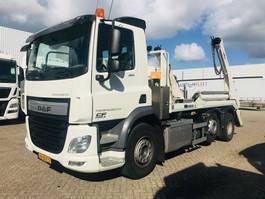 container truck DAF CF 400 FAG 6x2 met portaalarm 2017