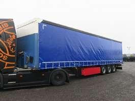 прицеп с наклонной платформой Schmitz Cargobull SCS 24 Curtainsider Palettenkasten Liftachse 2015