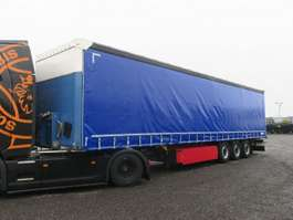 tilt trailer Schmitz Cargobull SCS 24 Curtainsider Palettenkasten Liftachse 2015