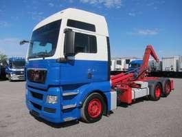 camion portacontainer MAN 26.440 FLLC TGX XXL Euro 5 EEV Lenkachse 2010