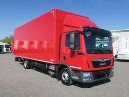 closed box truck MAN TGL 10.220 BL LBW Klimaautomatik 2018
