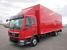 ciężarówka ze skrzynią zamkniętą MAN TGL 10.220 BL LBW Klimaautomatik 2018