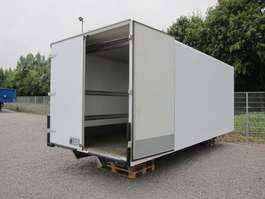 closed box truck Koffer mit Hilfsrahmen (vorher auf MAN TGL 12.220) 2013