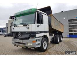 camion a cassone ribaltabile Mercedes Benz Actros 3353 Day Cab, Euro 3, full steel suspension 2000