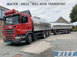cysterna Scania G440 6x2 16.000L RVS ISO Tank icm Burg 06 ahw 20.000L RVS ISO Tank 2013