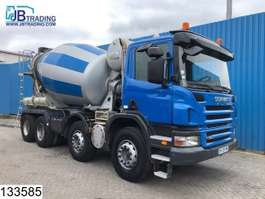 concrete mixer truck Scania P 380 8x4, Cifa 8 M3, Beton / Concrete mixer, Manual, Airco, Steel suspe... 2008
