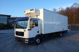 refrigerated truck MAN TGL 12.250 Kühlkoffer-LBW-Thermo King -8 Gang 2009