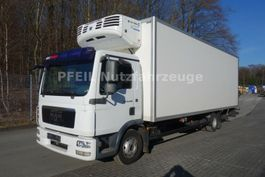 refrigerated truck MAN TGL 12.250 Kühlkoffer-Multitemp-TK TS500e-8 Gang 2009