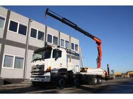 crane truck Hino 700FY crane 2008