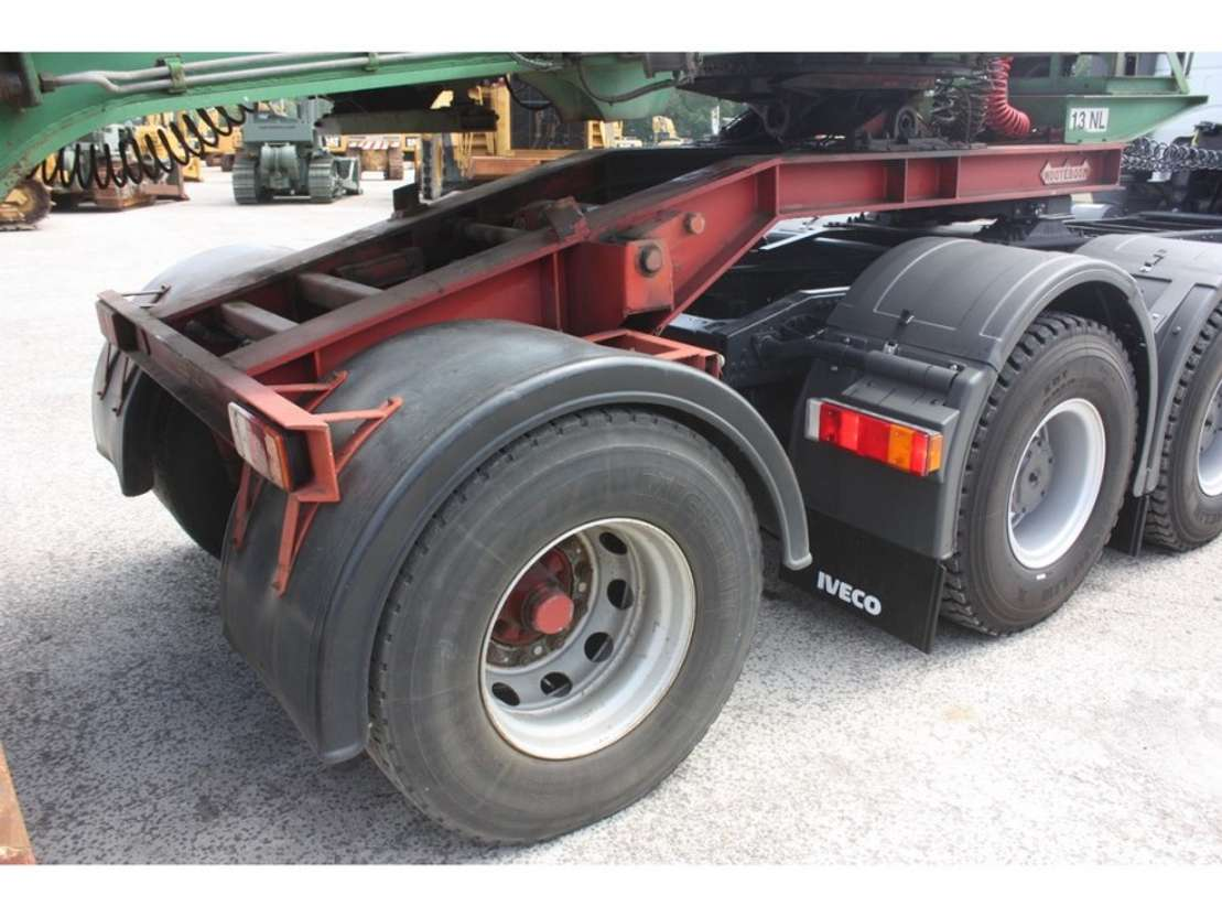 lowloader semi trailer Nooteboom OSDBAZ-84 1985