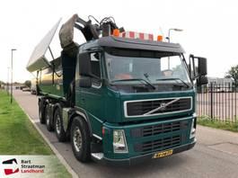 tipper truck > 7.5 t Terberg FM1850-T 8x4 euro 5 kipper met Z-kraan 2010