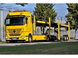 car transporter truck Mercedes Benz Actros 1846 L/NR 4x2  Megaspace Autotransport - Cartransport - Depannage 2007