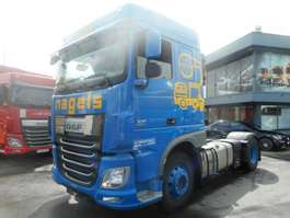 hazardous materials tractorhead DAF XF 460 FT SPACE CAB ADR 2014
