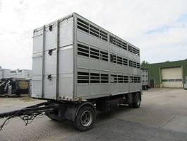 livestock trailer Van Hool R-209 1986