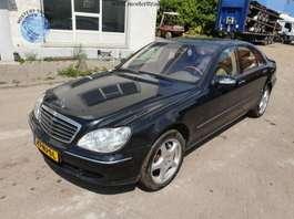 sedan car Mercedes Benz S 600 V12 2003