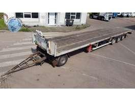 flatbed full trailer Groenewegen 90CM hoge aanhanger