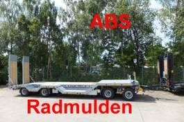 Tieflader Auflieger Möslein T4- R VB H1  4 Achs Tieflader mit Radmulden, ABS 2020