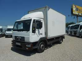 closed box truck MAN 8155 LC 2005
