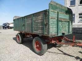 rimorchio completo con sponda laterale ribaltabile onbekend 2-assige aanhangwagen