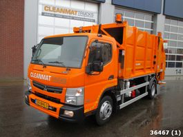 garbage truck Fuso Canter 9C15 AMT 2016