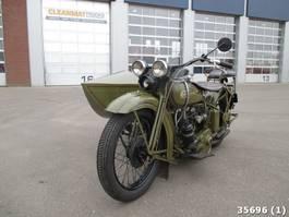 motocykl Harley-Davidson D 750 D750 zijspan combinatie 1929