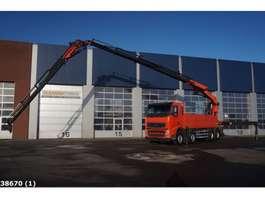 camion grue Volvo FH 12.460 8x4 Palfinger 60 ton/meter laadkraan + JIB 2010