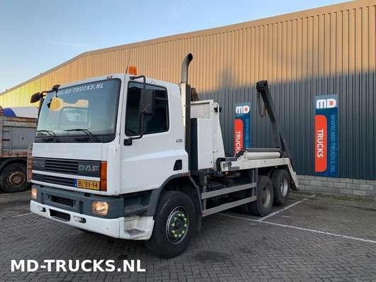контейнеровоз DAF CF 75 290 manual 6x2 steel NL 2001