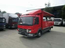 shop trailer lcv Mercedes Benz ATEGO 818 Getränkepritsche 5,20 m Diff.-Sperre 2013