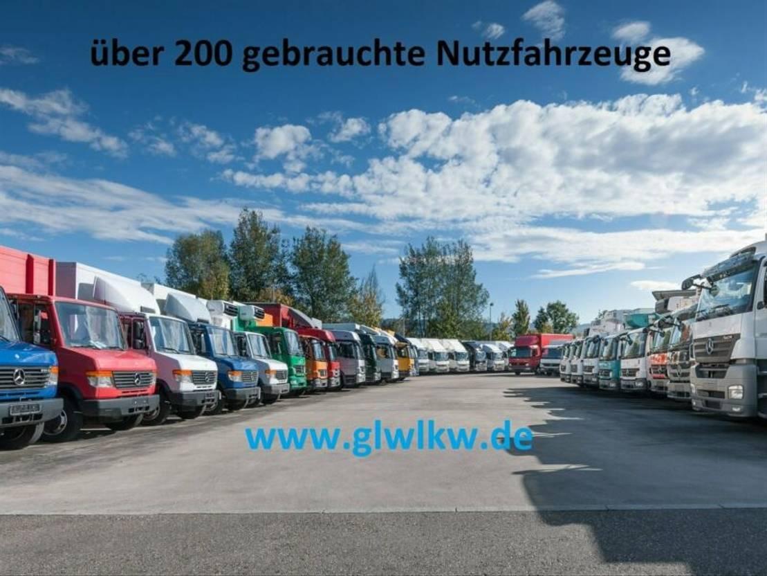 closed box truck > 7.5 t Mercedes Benz ATEGO 818 L Koffer 6,10 m LBW BÄR 1 to.*Luft HA 2015