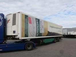 refrigerated semi trailer Krone SZR 18 2-Achs Zwangslenkung LBW (starke Nutzung) 2010