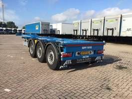 Containerfahrgestell Auflieger Pacton Flex XL Multi Containerchassis 2019