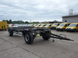 swap body trailer semi trailer Fliegl ZWP 180  385-65 R22.5 2016